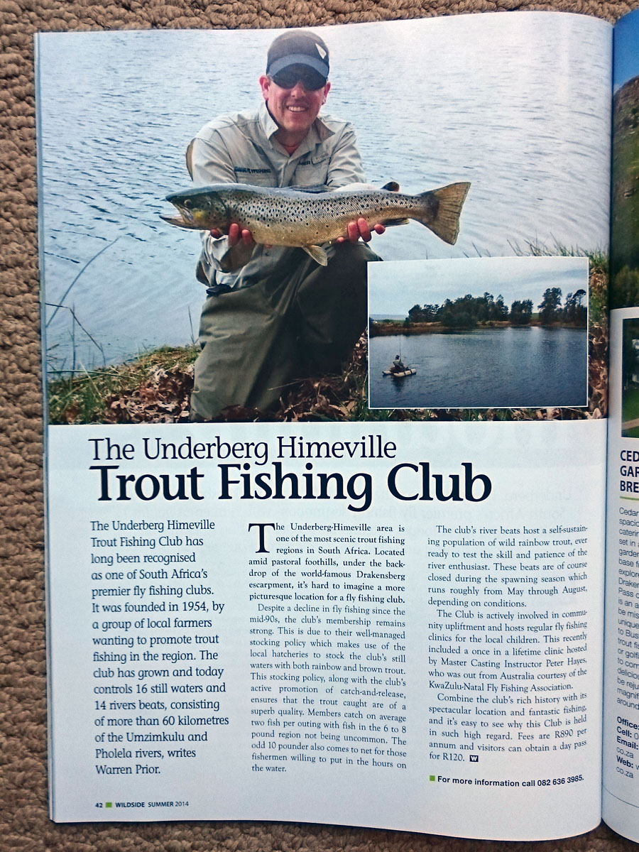 Article In Wildside Magazine