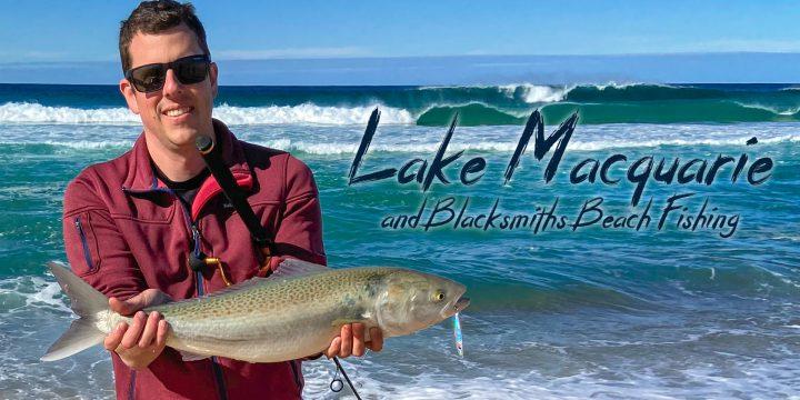 Lake Macquarie and Blackmans Beach Fishing (Video)