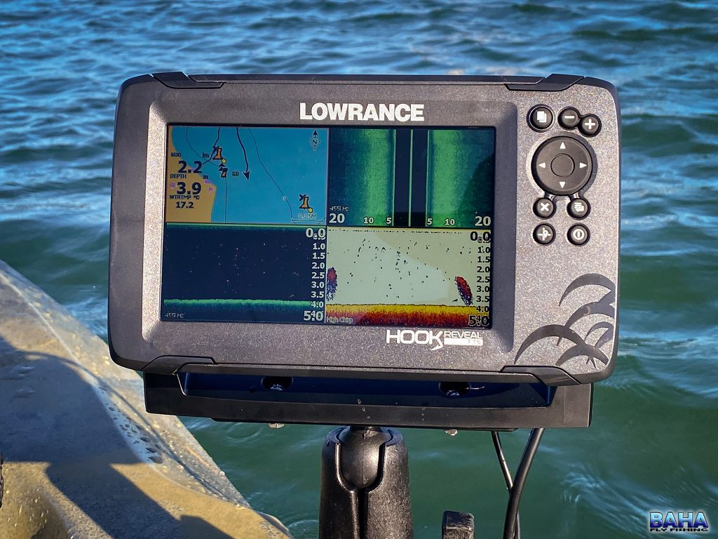 My new Lowrance Hook Reveal 7 with TripleShot