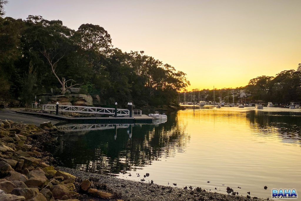 Sunrise at Tunks Park Boat Ramp