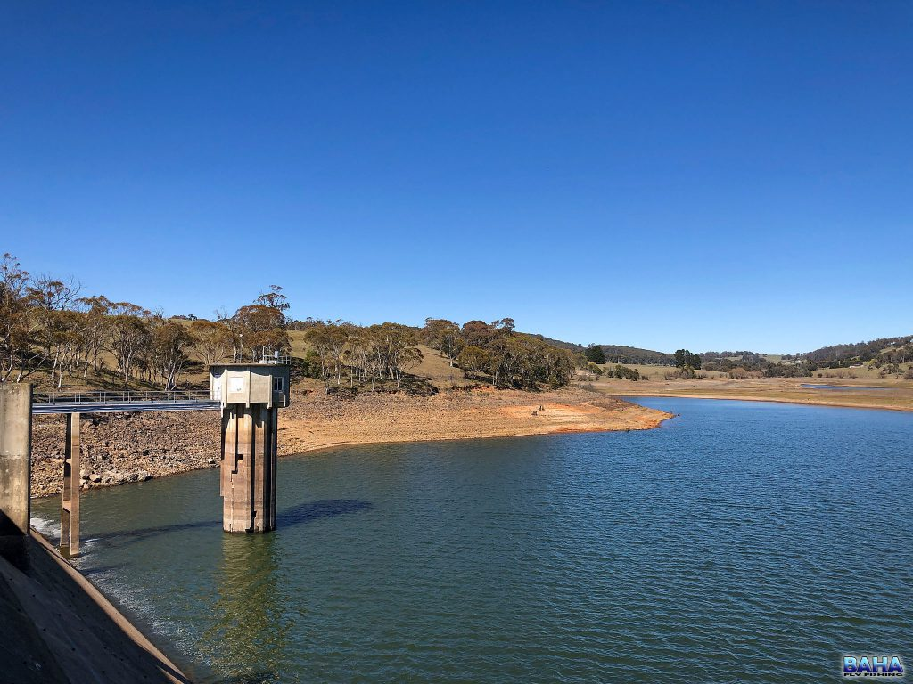 Views from the Oberon Dam wall