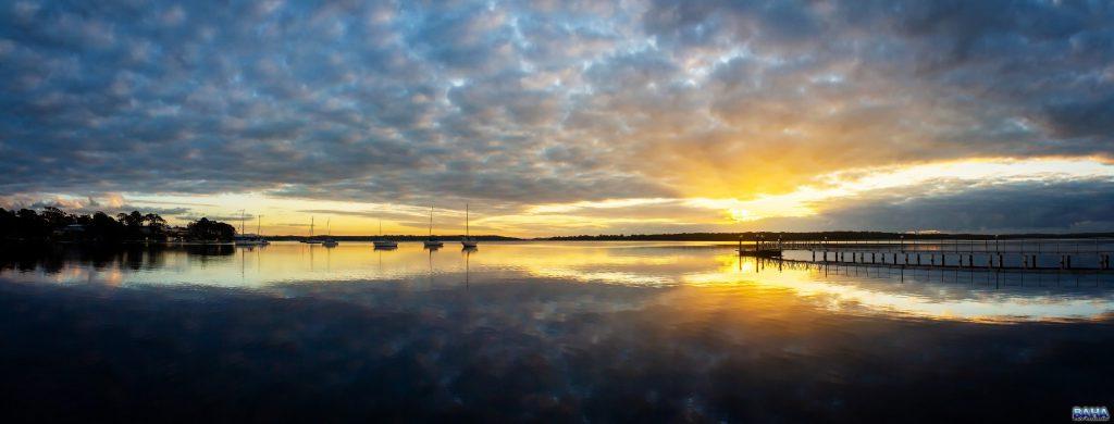 Sunrise at Lake Macquarie