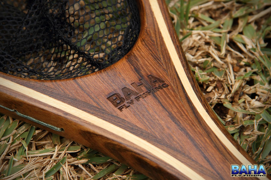 With Baha Fly Fishing inscribed on one side