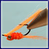 Orange Ruffy: This is a variation on a crazy charlie which I have found hugely useful in estuaries and in the surf.